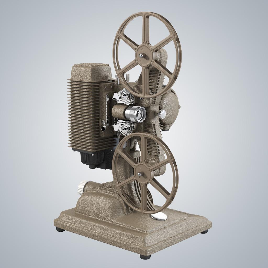 """Vintage Film Projector Collectors 85"""" Vintage Film Projector"""
