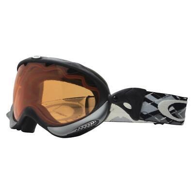Oakley 02-607 Wisdom Shadow Grey Frame w/ Persimmon Lens Mens Snow Ski Goggles .
