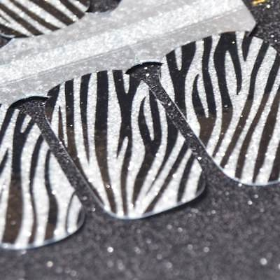 Perfectly Polished Nail Strips Zealous Zebra