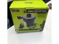 Electric battery and car adaptor pump