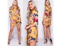 Mustard shirt dress sizes 6-10, postage tracked £2.79 3-4 days