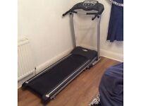 Electric Pro Fitness Black Treadmill