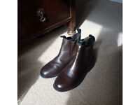 NEW - Dublin adult size 5 horse riding ankle boots, jodhpur boots, brown, never used