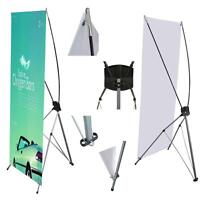24in x 63in X-Banner Stand with aluminum stand & tote - SALE $79