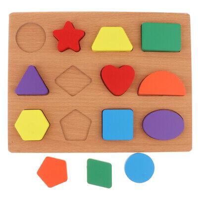 Pädagogisches Spielzeug hölzernes Puzzle   Brett 3D für