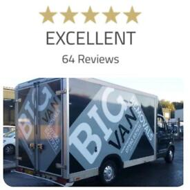 BIG VAN REMOVALS BARNSLEY MAN AND VAN SERVICE DELIVERY AND COLLECTION SERVICE CHEAP STUDENT VAN HIRE