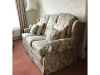 Handmade 3 piece suite (sofa & 2 armchairs)