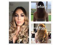 Luxury 100% human hair extensions