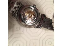 Tissot ladies automatic stainless steel watch