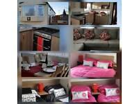 Caravan for hire at flamingo land