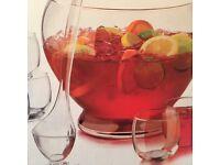 Cocktail Punch Bowl Set