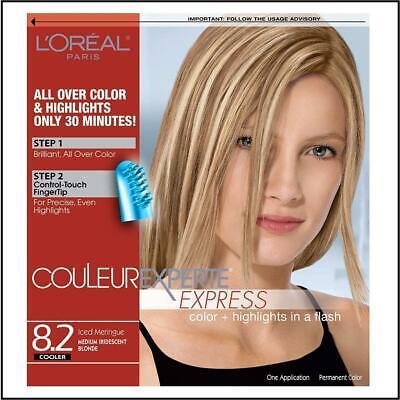 Loreal Couleur Experte Express 8.2 Iced Meringue Medium Iridescent Blonde Cooler