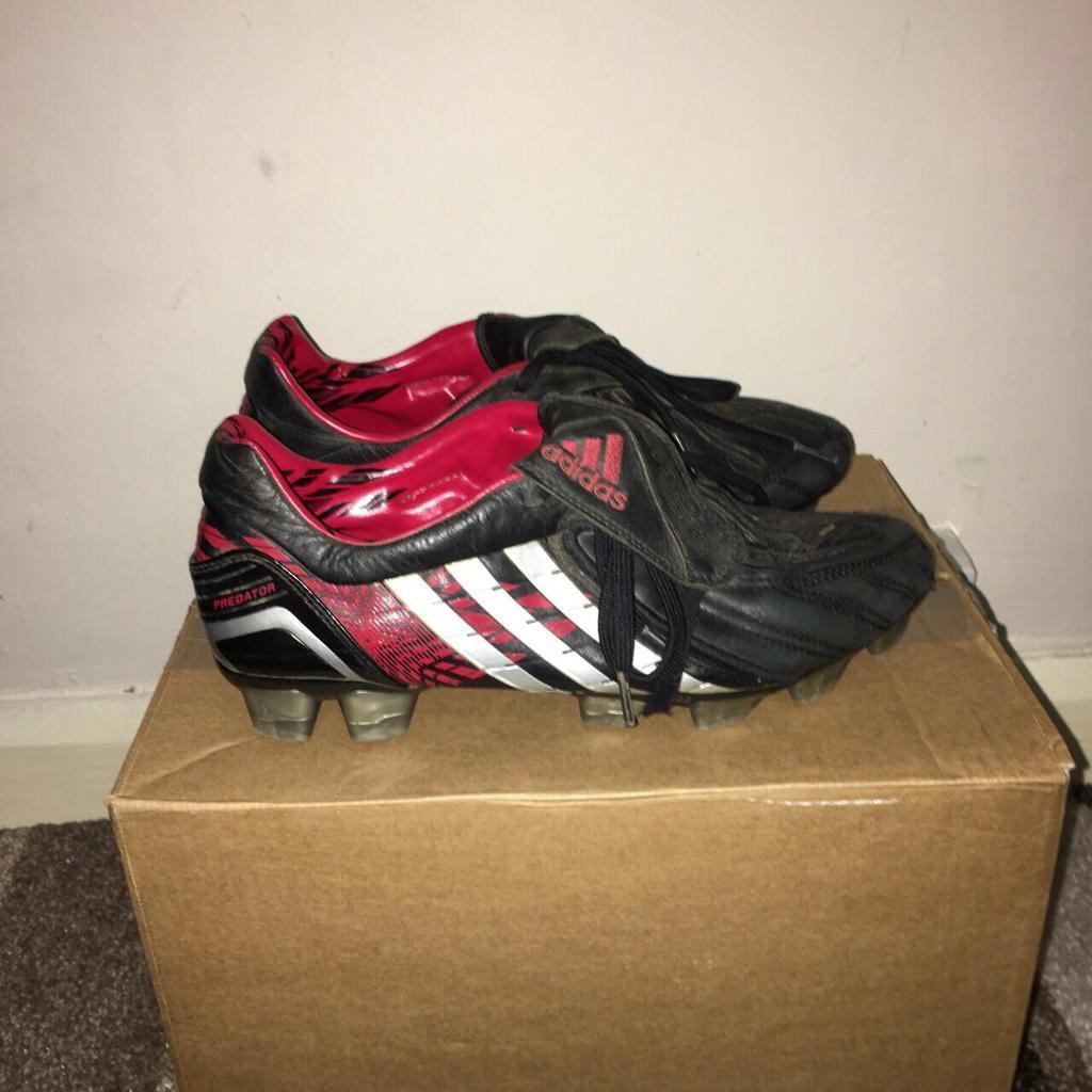 1d868607adf2 Adidas Predator Pulse Powerswerve X TRX FG Football Boots Size UK 7