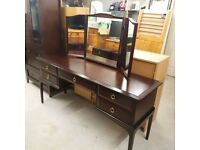 STAG DRESSING TABLE Solid mahogany wood