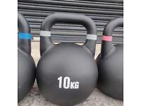 Cast Iron 10kg Kettlebells. UK, NI & ROI