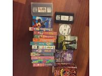 Selction of VHS tapes and Dvds Airdrie £10