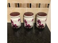 Modern tea coffee sugar holders