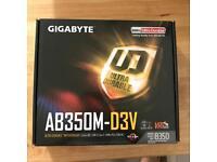 Gigabyte ab350m-d3v