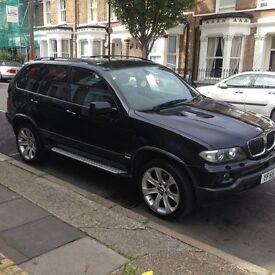 BMW X5 Desiel Exclusive 3.0d sat nav /tv/nappa leather/ 20inch alloy wheels / £6750 ono