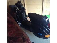 Lml(Vespa) 2009 177 bgm kit , Jl exhaust , 11 mot