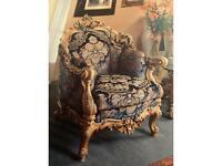 Baroque Silik suite ITALIAN FURNITURE full set
