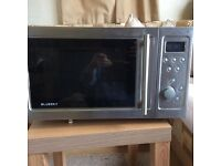 Stainless steel microwave/grill