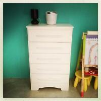 Commode 5 tiroirs vintage