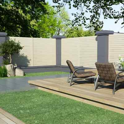 vidaXL Garden Fence Panel 1.7x1.7m Outdoor Backyard Privacy Screen Barrier