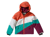 Billabong Girl's Youth Pyneo Waterproof Winter Ski Snow Jacket Coral Age 10 New Unworn with tags