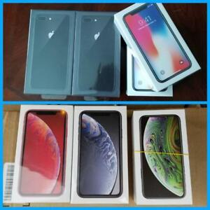 New in Box iPhone 8 Plus 64GB($850)/XR 64GB($950)/ X 64GB($1100)/XS 256GB($1450), 1 Year Apple Warranty! Unlocked!***