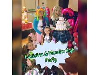 PARTY PACKAGES,LIVE SINGING PRINCESSES, SUPER HEROES, FUNFOOD, FACE PAINTING, CANDY FLOSS