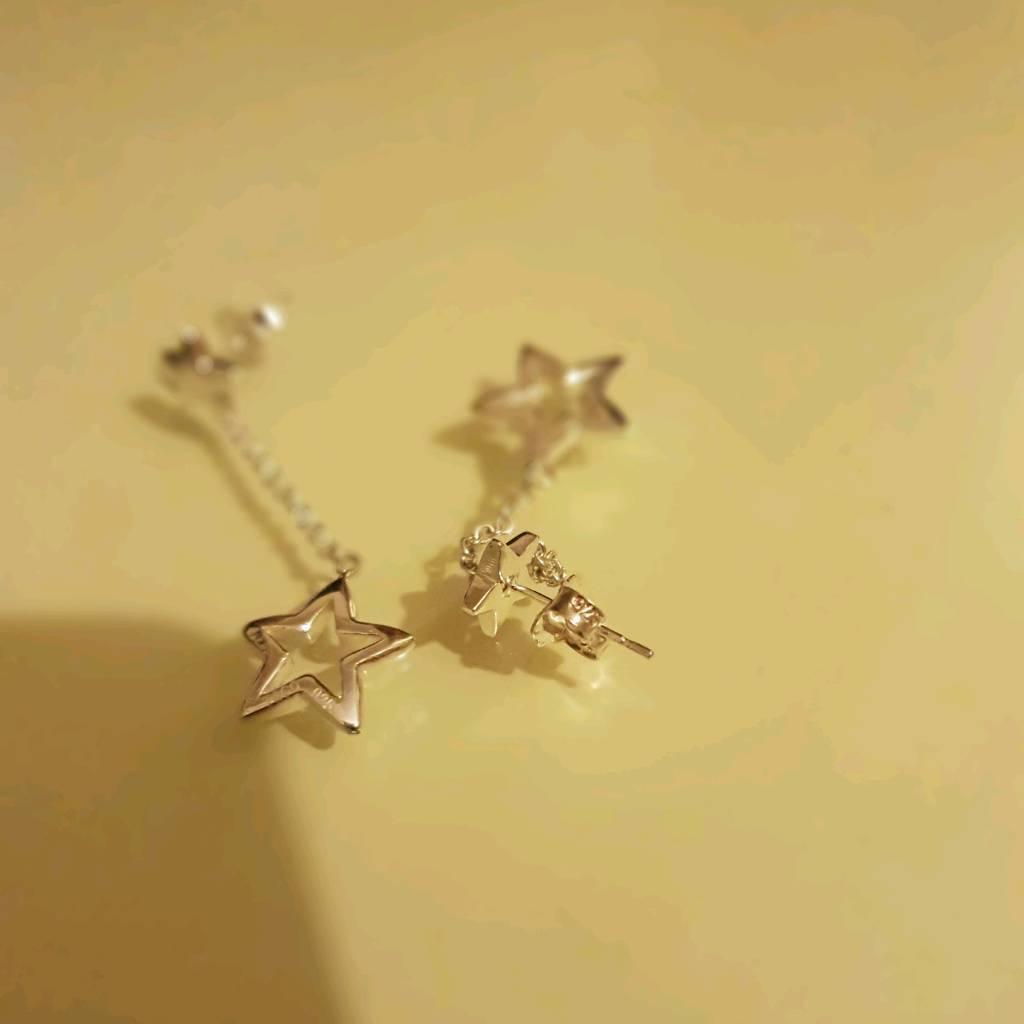 f41383ff4 Tiffany & Co. STAR LINK DROP earrings | in Derby, Derbyshire ...