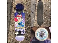 Pokemon 1990s skateboard