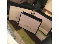 Gucci shopping/gift bag
