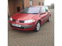 RENAUULT MEGANE DYNAMIQUE 3 DOOR (55) SERVICE HISTORY ,HPICLEAR.