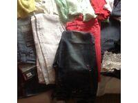 Ladies bundle of 10/12 clothing mostly river island