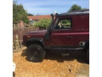Landrover 90 lifted
