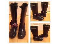 Girls Lelli Kelly Boots Size 10