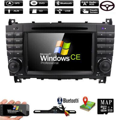 Mercedes Benz C/CLK KLASSE W203 W209 Autoradio DVD GPS RDS BLuetooth Navi