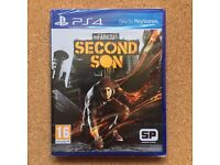 PS4 Game - inFamous - Second Son (16) as new unwrapped