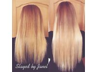 Hair Extensions in Cambridge - Book now for bombshell hair this summer!