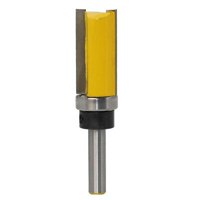 8mm Shank Straight Router Bit Wood Milling Cutter Slotted Trimming Tools 3