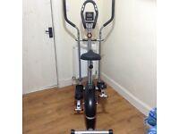 V-Fit MCCT1 Magnetic 2-in-1 Exercise bike & Elliptical trainer