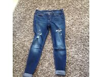 Ladies Hollster Jeans