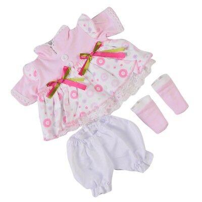 Schöne Puppen Kleidung Anzug für 16 17 '' Baby Doll Dress up Zubehör Kind ()