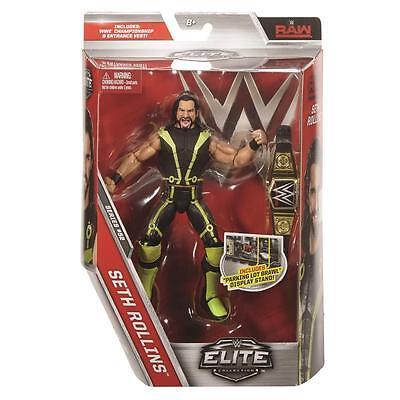 Seth Rollins Elite Series 52 WWE Mattel Brand New Figure Toy - Mint Packaging