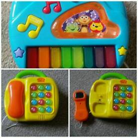Piano/phone toy