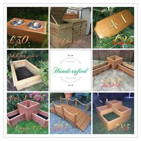 Garden Planters And Bespoke Items