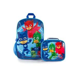 eOne Econo PJ Mask Kids 15 Inch Backpack with Lunch Bag 2pc Kit