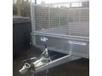 IFOR WILLIAMS TRAILER, 8x4 ,as brand new